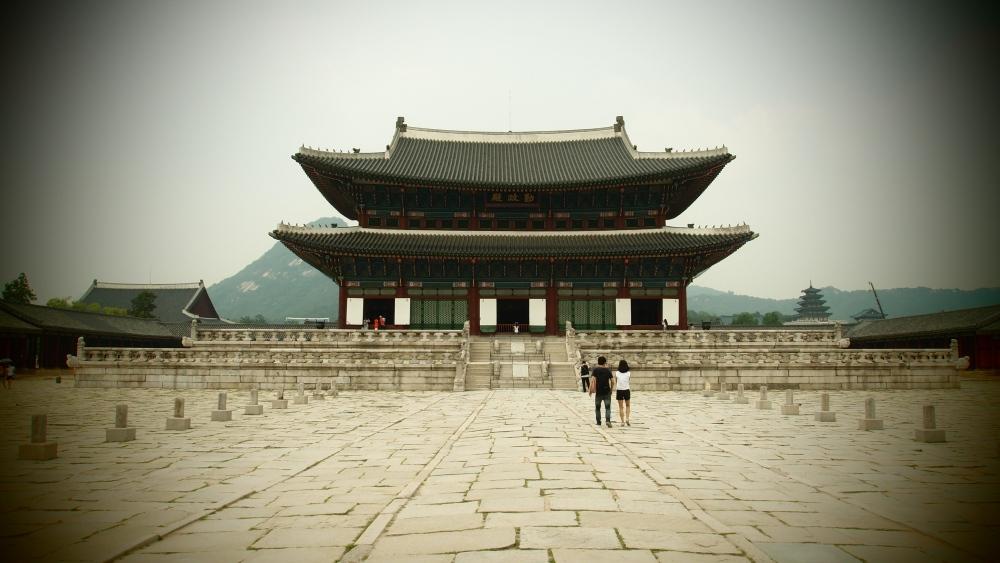경복궁 Gyeongbokgung Palace Seoul South Korea