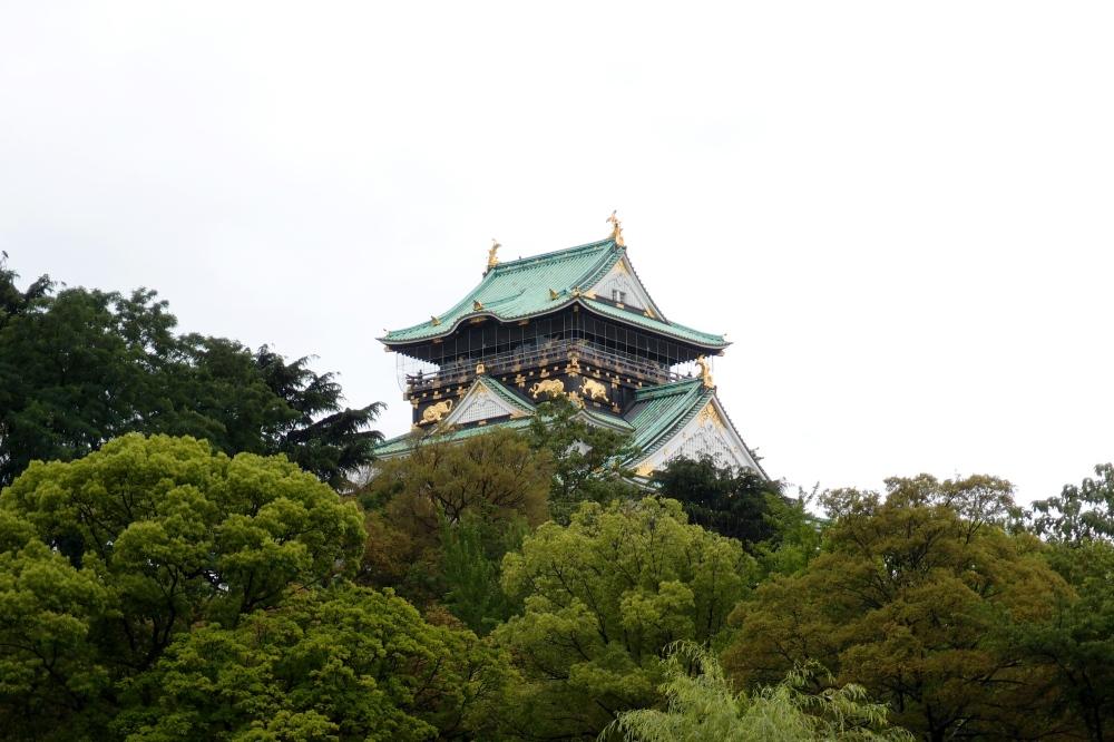 Osakajo, Japan