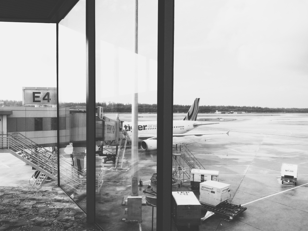 TigerAir at Changi Airport