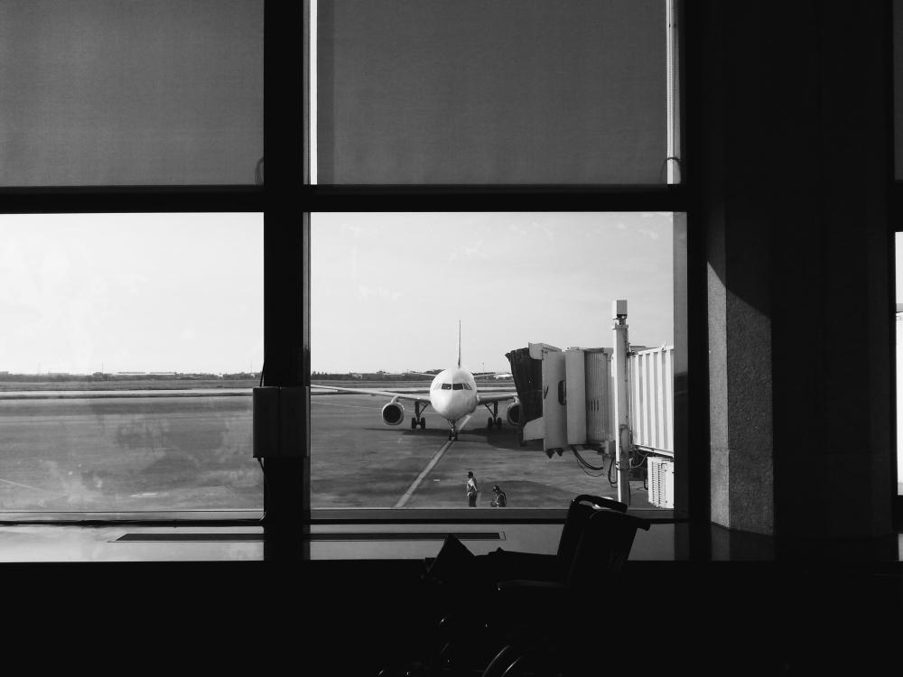 Taoyuan Airport, Taiwan.