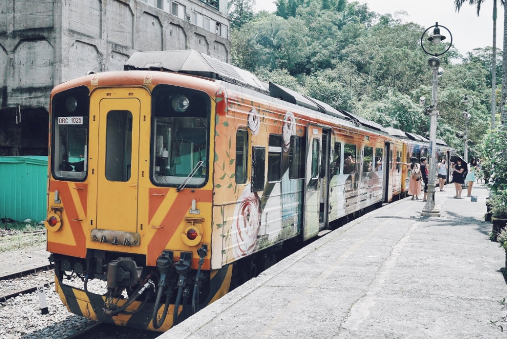 Pingxi Line, Taiwan.