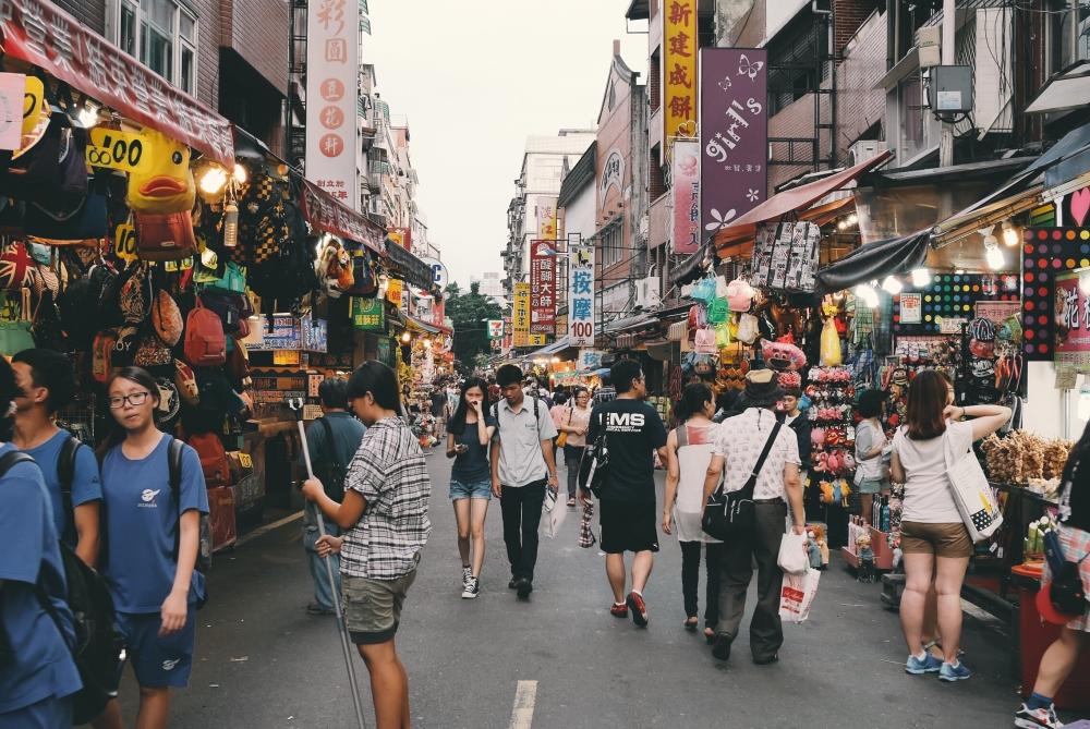 Danshui, Taipei, Taiwan.