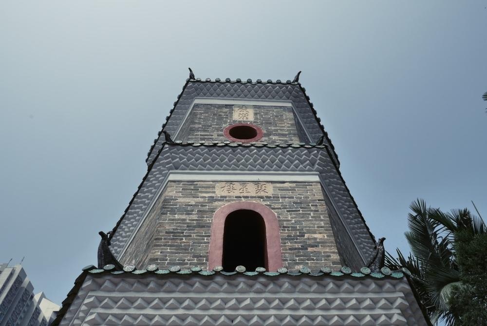 Travel Photographer   Tsui Sing Lau Pagoda at Ping Shan Heritage Trail Hong Kong