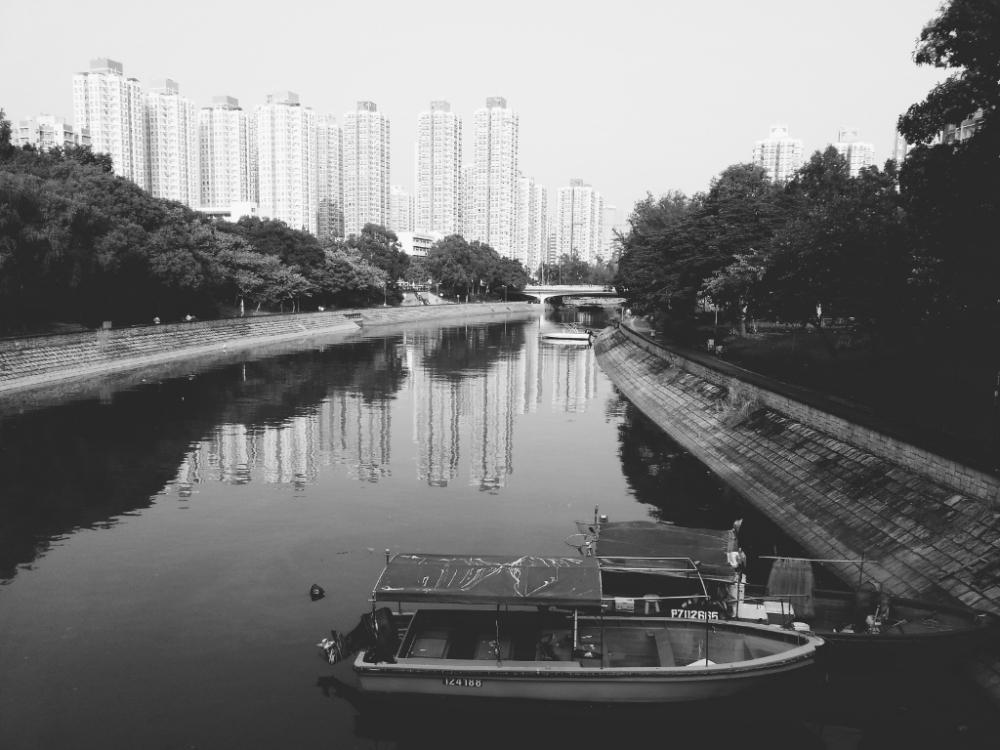 Lam Tsuen River, Tai Po, Hong Kong.