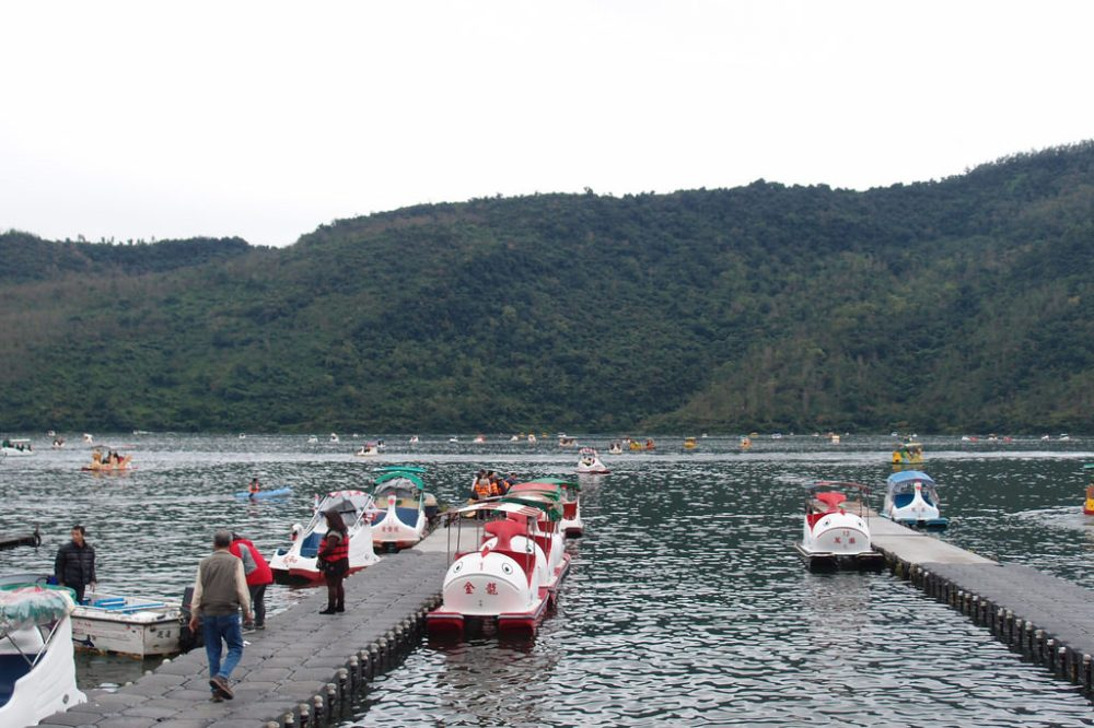 Liyu Lake, Taiwan.