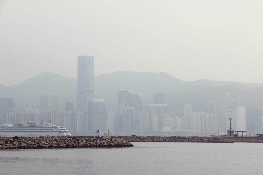 Kwun Tong Promenade, Hong Kong.