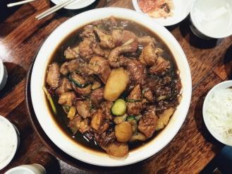 Freelance Travel Writer | What to eat in Seoul: Andong Jjimdak Edae