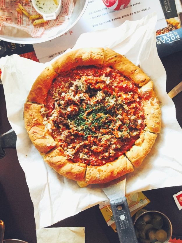 Freelance Travel Writer | What to eat in Seoul: Chicago Pizza