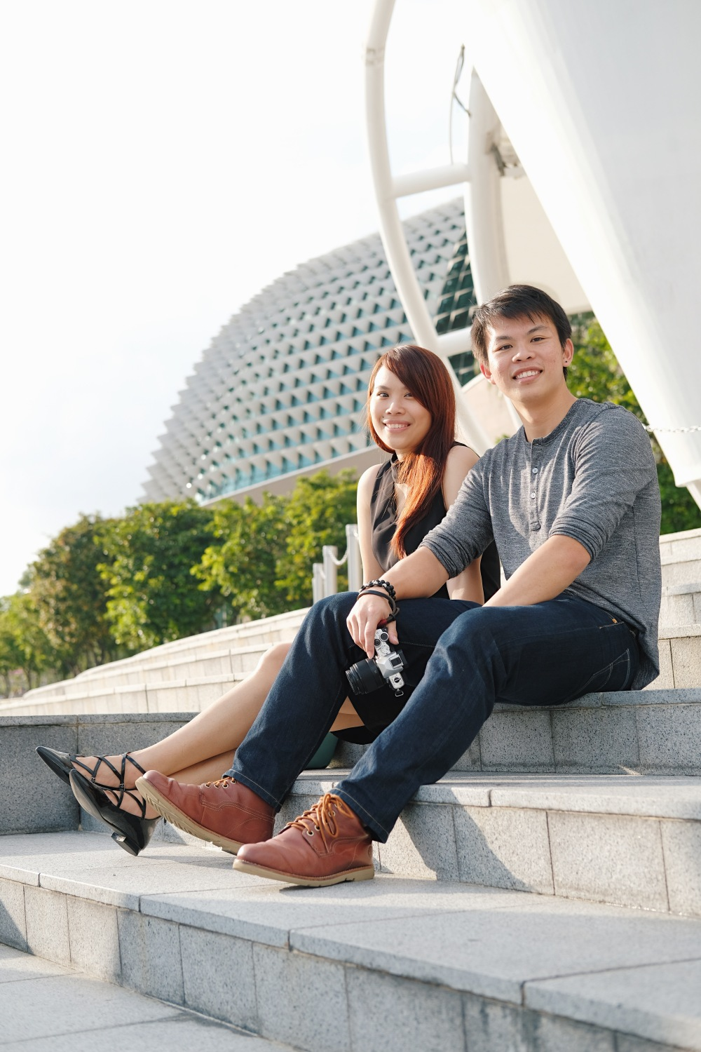 Freelance Photographer | Casual couple shoot Singapore