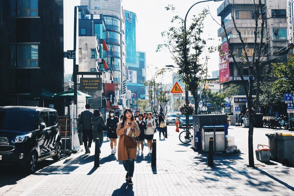 Street Photographer | Sinchon Seoul South Korea