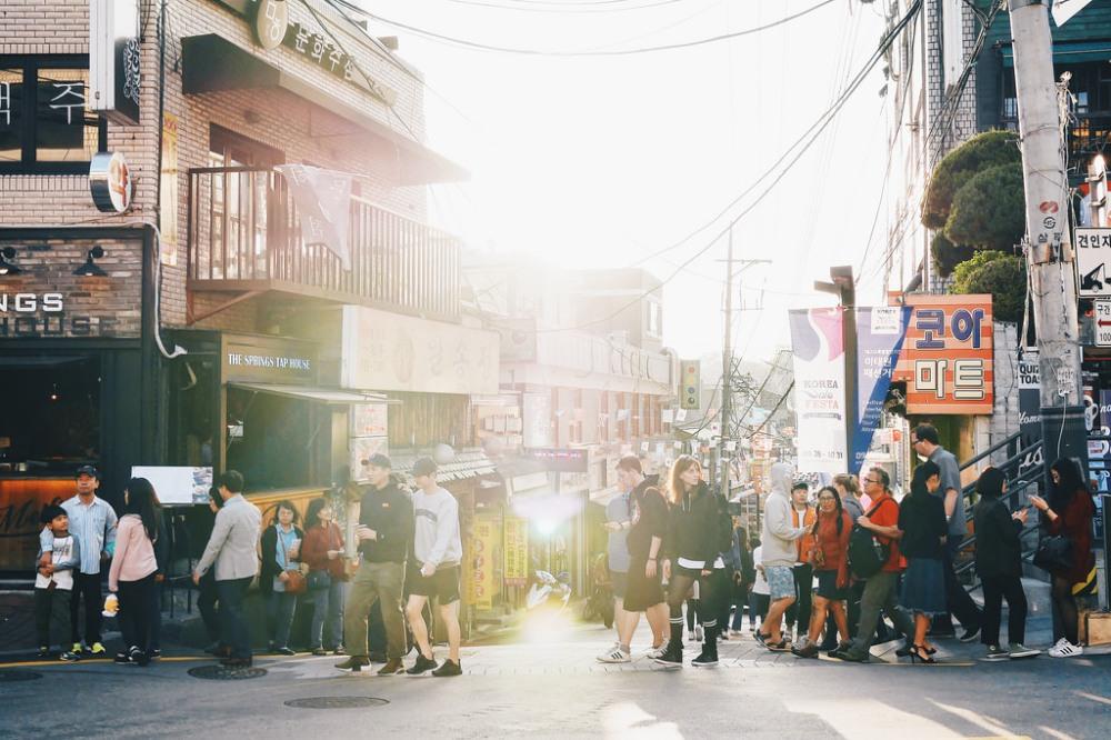 Street Photographer | Itaewon Seoul South Korea
