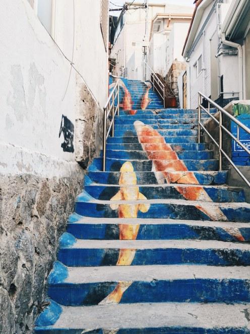 Freelance Travel Photographer | Ihwa Mural Village (이화 벽화마을), Seoul.