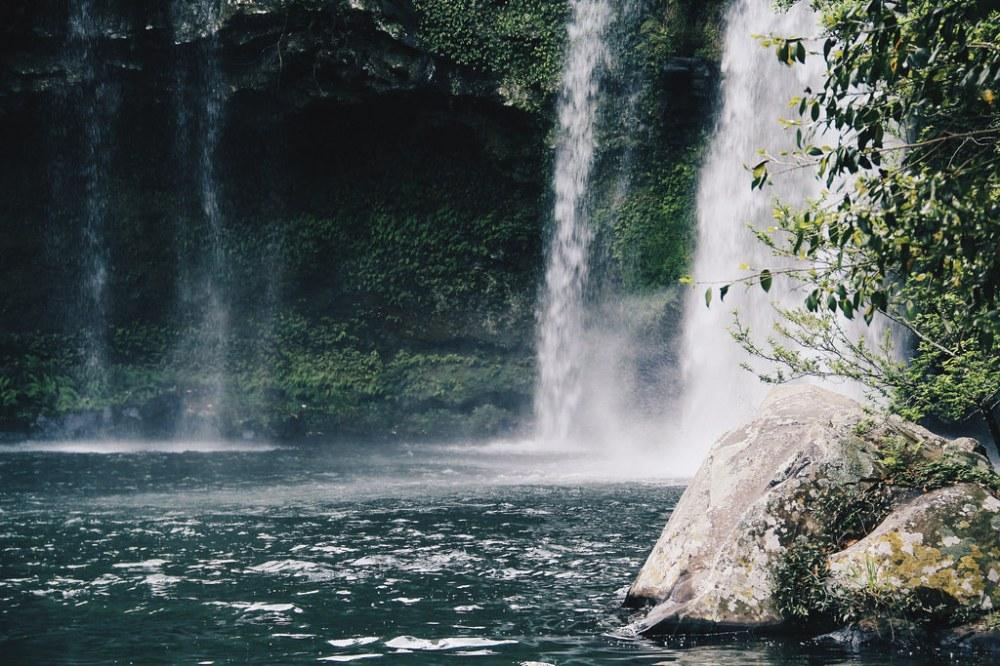 Cheonjiyeon Falls (천지연폭포) at Jeju Island (제주도)