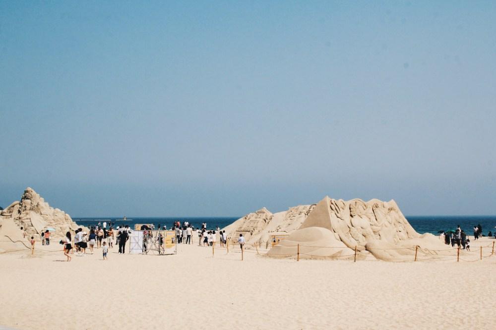 Haeundae Sand Festival (해운대 모래축제), Busan.