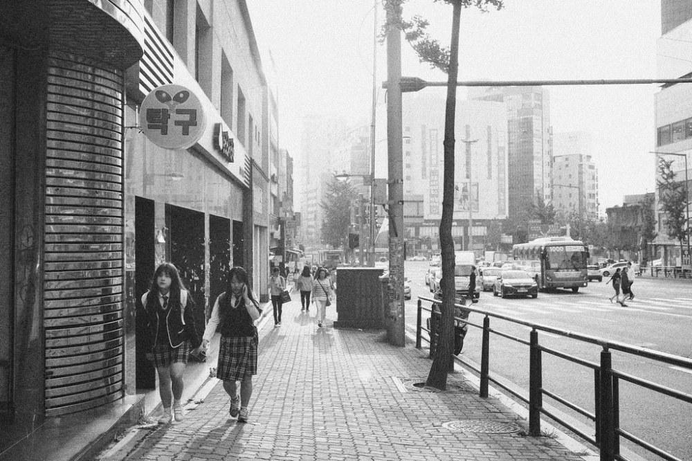 Sinchon, Seoul.