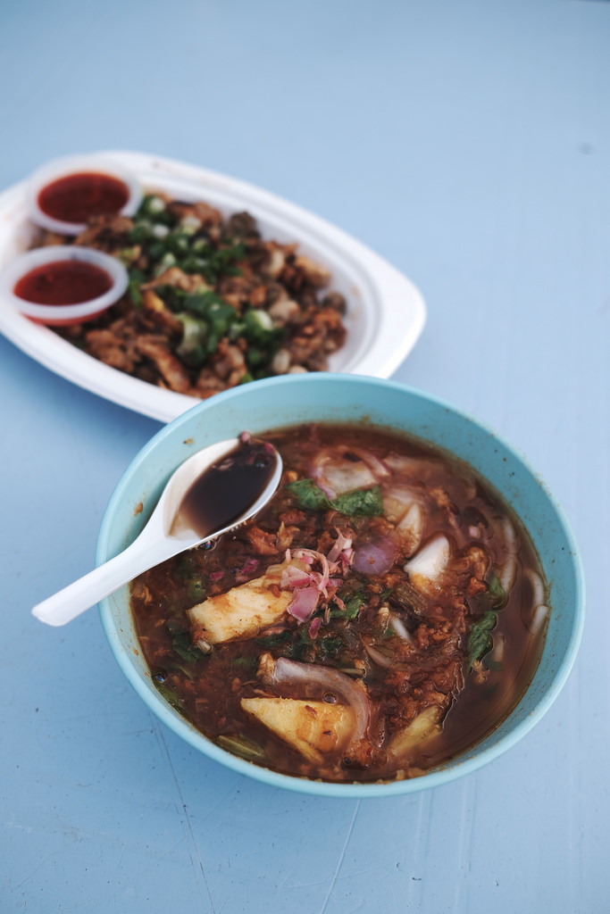 Travel Food Photographer | Assam Laksa Gurney Drive Penang Malaysia