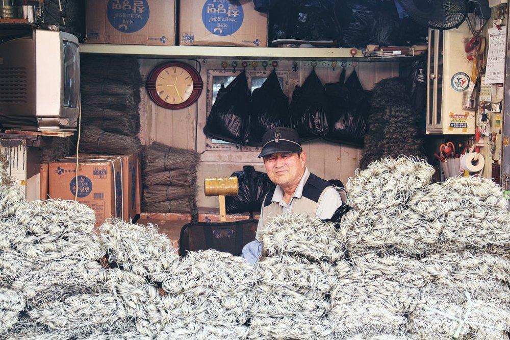 Travel Portrait Photographer | Jagalchi Market Busan South Korea