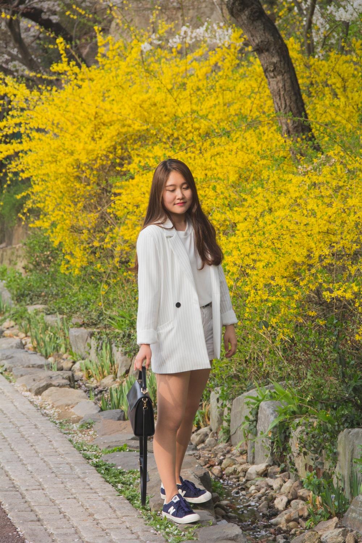 Portrait Photographer | Spring at Namsan Park Seoul South Korea