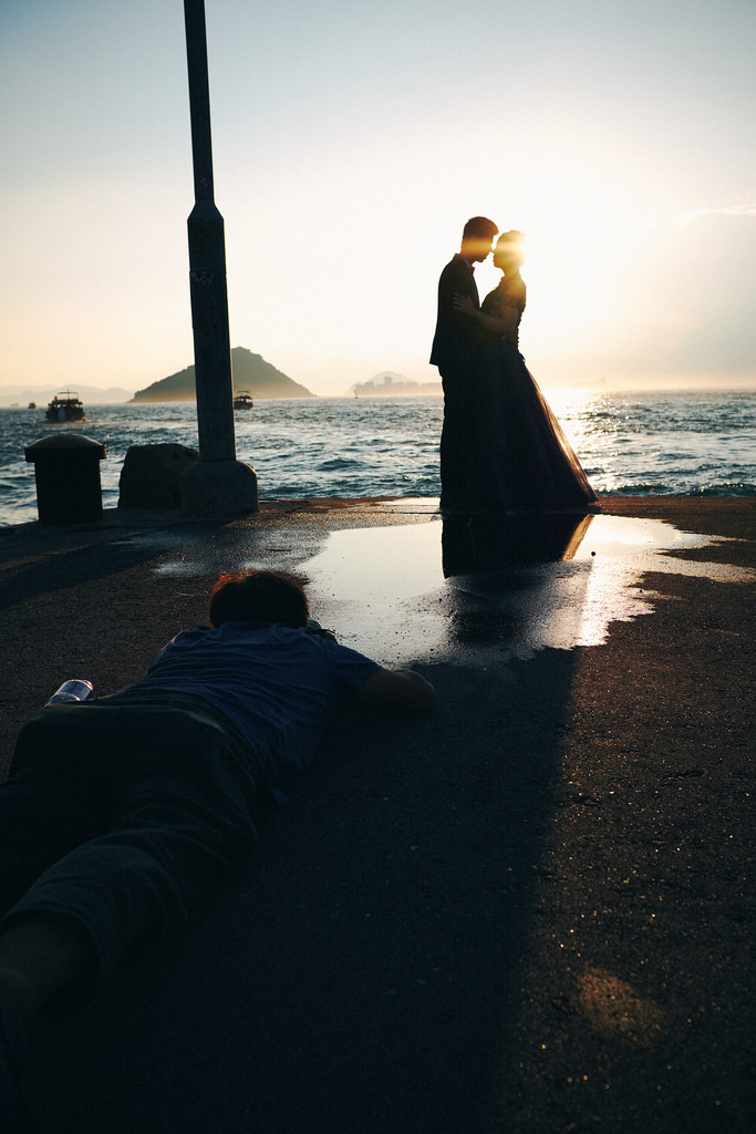 Travel Photographer | Pre-wedding at Instagram Pier Hong Kong